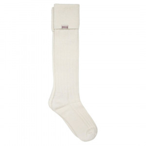 Alpaca Wool Long Socks Dubarry CREAM