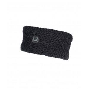 Celac Stickat Pannband Equiline BLACK