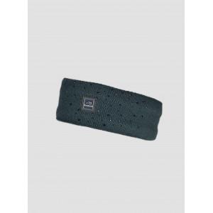 Gabig Stickat Pannband med strass Equiline T11337 GRÖN