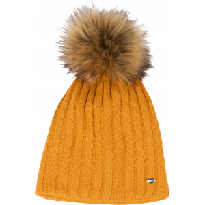 Pikeur Bobble Hat stickad mössa Pik-885200-326-630 Vintage Gold