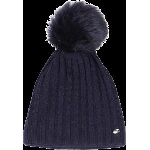 Pikeur Bobble Hat stickad mössa Dark Navy Pik-885200-326-391