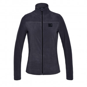 KLmarina Ladies Micro Fleece Jacket Kingsland GREY ASPHALT
