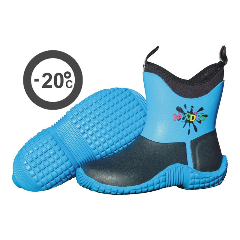 Muddies barnvinterstövel Blå  -20 grader- Grubs
