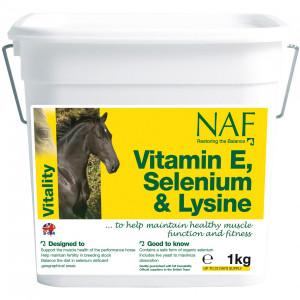 NAF Vitamin E, Selen & Lysin 1 kg