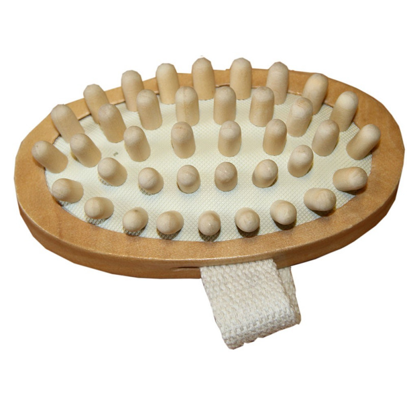 Massageborste med knoppar Borstiq