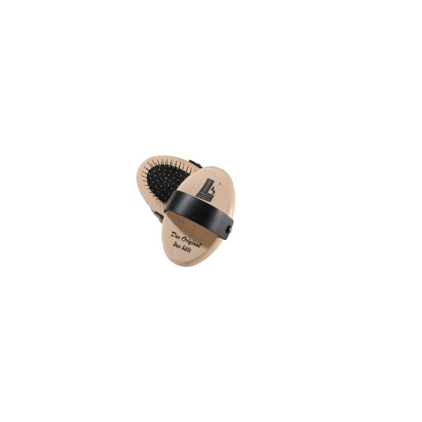 Manborste med stålpiggar 4g86 WL igelkottsmodell