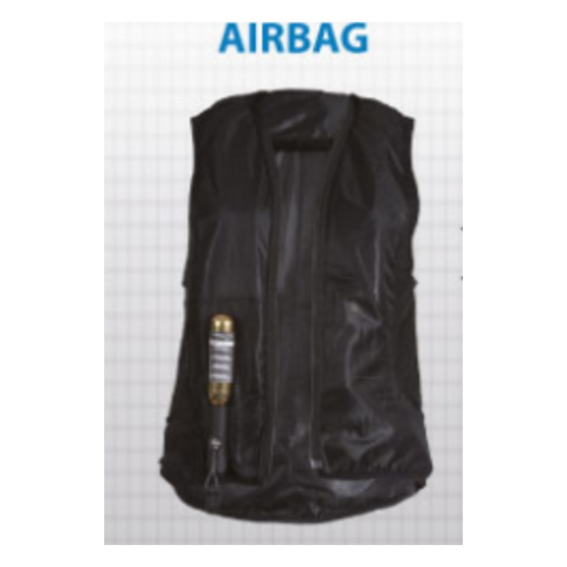 Helite Air Show Jacket ridkavaj + Airbag KOMPLETT