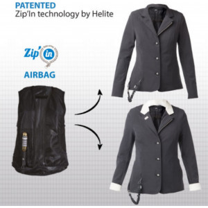 Helite Air Show airbag Jacket -säkerhetskavaj
