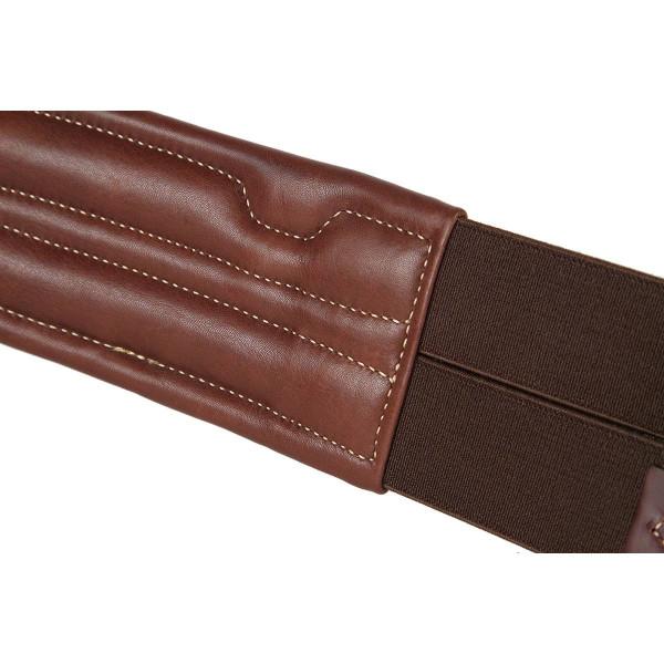 Ikonic Anatomisk sadelgjord i läder