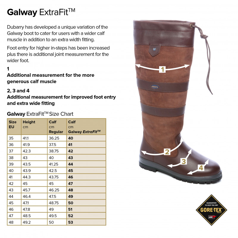 Galway Country Boots Slim Fit Dubarry