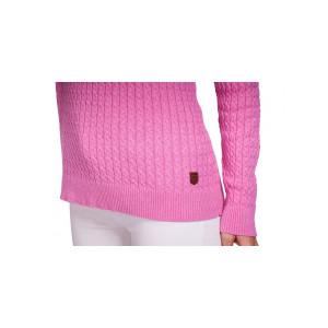 Ardagh kabelstickad tröja dam Dubarry