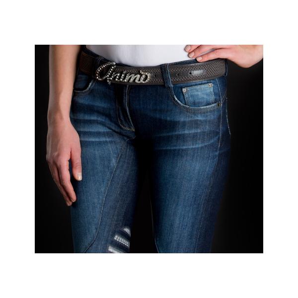 ridbyxor jeans dam