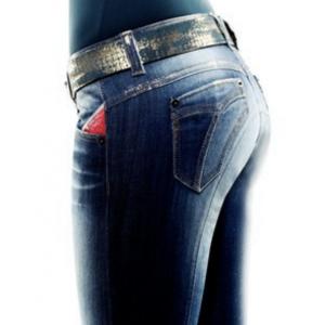 Ridbyxa Animo Novino jeans-gold