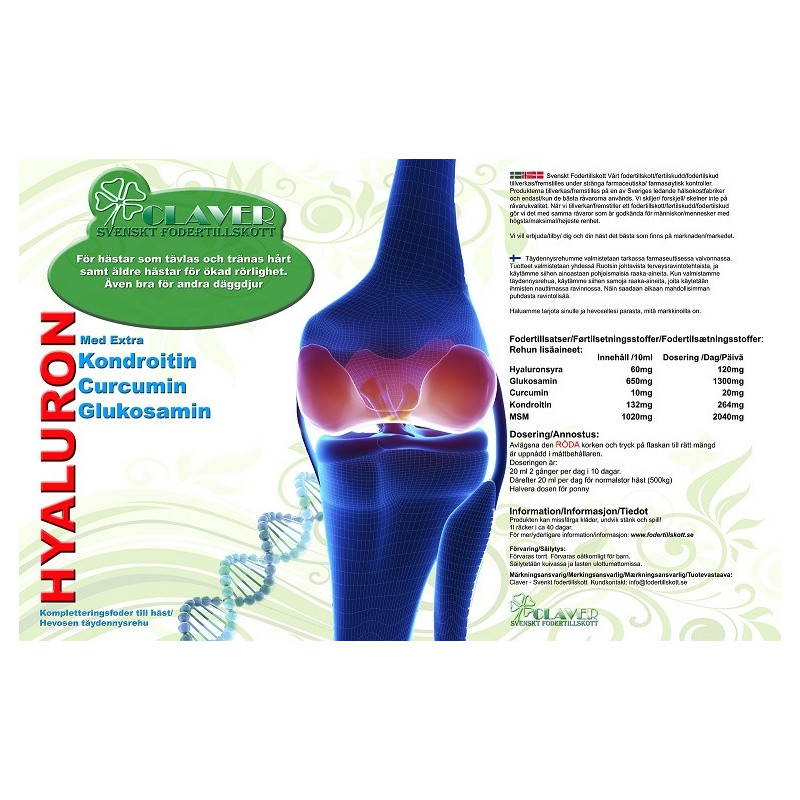 Hyaluron Extra 1 l Claver