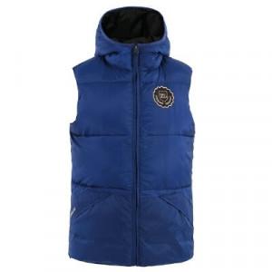 KL Many unisex Padded Vest with Hood