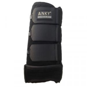 Benskydd Anky Neoprene svart