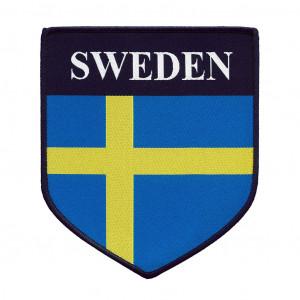 Svensk flagga till Andre Boxgardin mm.