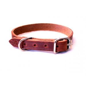 Alac läderhalsband 22 mm