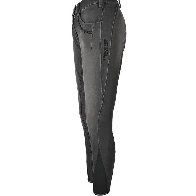 Pikeur Elfa helskodd grip jeansridbyxa svart AW17-18
