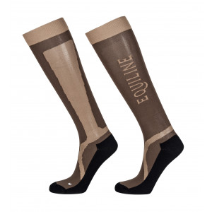 Equiline Port ridstrumpa JR Brown