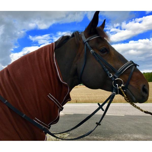 Träns Emita med vitfodrad Aachennosgrimma pullback