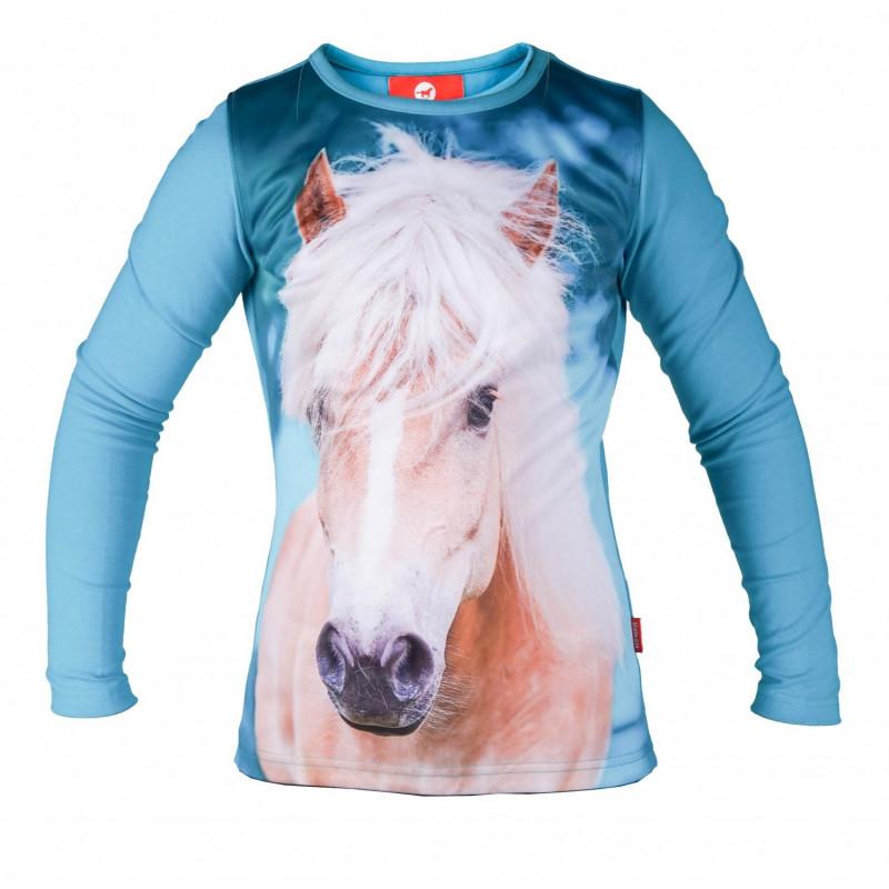 Barntröja FAME Red Horse HORKA