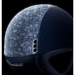 Samshield Chrystal Fabric Shadowmatt Ridhjälm BLUE