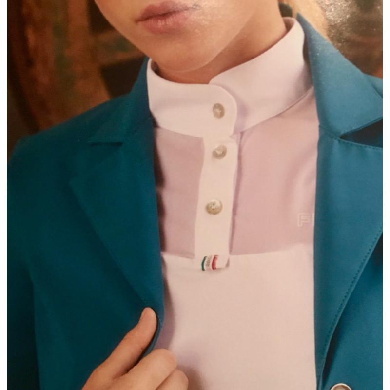 For Horses Beatrice tävlingsskjorta kort ärm & mesh