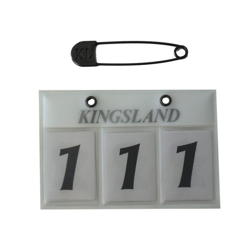 Nummerlapp Kingsland Classic Numberplate
