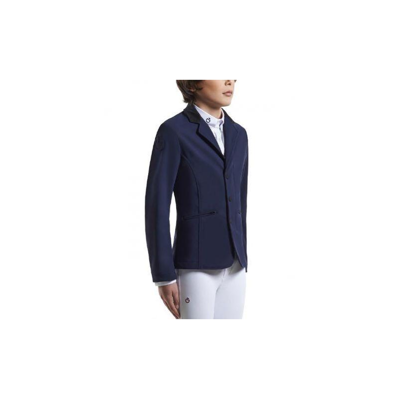 Boy Riding Zip Jacket ridkavaj Cavalleria Toscana FÄRG: dark navy 7001 men saknar loggan på vänster bröst